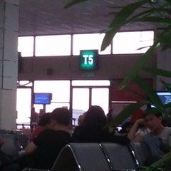 Photo taken at Gate T5 by eina u. on 11/2/2013