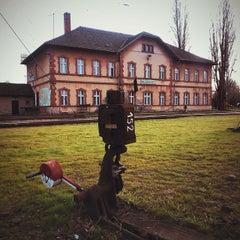 Photo taken at Rákosrendező vasútállomás by ⚾ GRAFI 🏈 on 11/16/2014