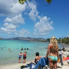 Photo taken at Sapphire Beach Marina & Resort Saint Thomas (Virgin Islands U.S.) by The Mrs on 9/1/2015