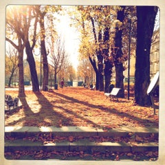 Photo taken at Piazza Solferino by Andrea B. on 12/9/2012