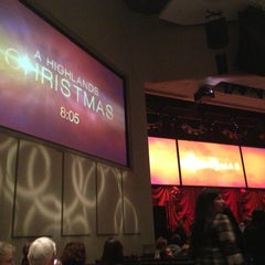 Photo taken at Church of the Highlands by Sara D. on 12/23/2012