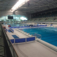 Photo taken at Sydney Olympic Park Aquatic Centre by Dion D. on 8/31/2014