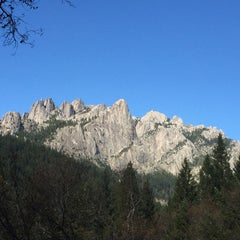 Photo taken at Castle Crags State Park by Tanya M. on 11/5/2015