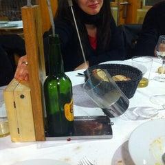 Photo taken at Restaurante Sidrería El Horreo by Ivan G. on 4/11/2014