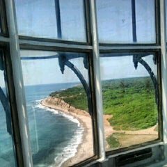 Photo taken at Montauk Point Lighthouse by Kyle D. on 7/10/2012