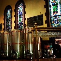 Photo taken at The Church Brew Works by Andre P. on 5/24/2013