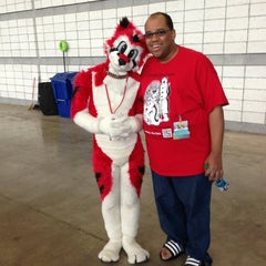 Photo taken at Anthrocon by Shy M. on 7/8/2013