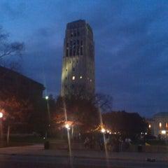Photo taken at Burton Memorial Tower by Shawn N. on 10/23/2012