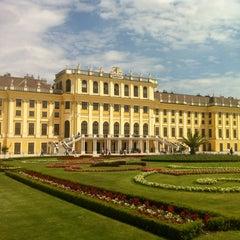 Photo taken at Schloss Schönbrunn by Rosangela S. on 5/22/2013