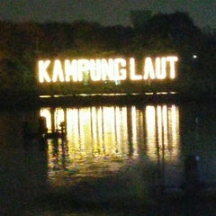Photo taken at Kampung Laut by Dono J. on 8/8/2015