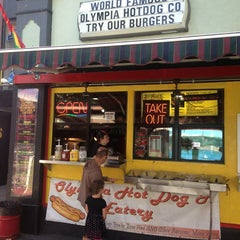 Photo taken at Olympia Hot Dog Company by Taija T. on 7/20/2013