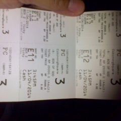 Photo taken at Platinum Cineplex by tiwi p. on 4/11/2014