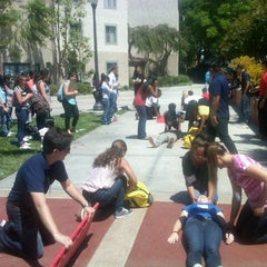 Photo taken at UCLA Covel Commons (Sunset Village) by Dr Aaron S. on 6/27/2013