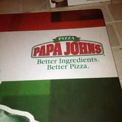 Photo taken at Papa John's by Lyka V. on 9/7/2013