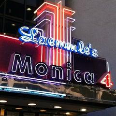 Photo taken at Laemmle's Monica Fourplex by Carlos R. on 2/19/2013
