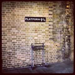 Photo taken at Platform 9¾ by Mark D. on 11/26/2012