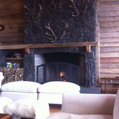 Photo taken at Hotel Cumbres Patagónicas by David C. on 10/11/2012