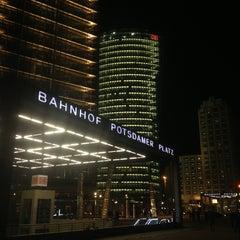 Photo taken at Potsdamer Platz by SandyInBerlin on 3/16/2013