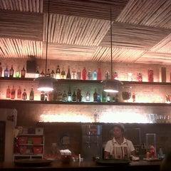 Photo taken at John John Cafe by Fernanda C. on 1/21/2013