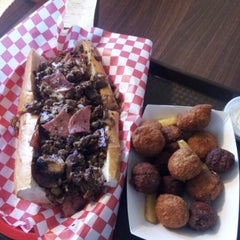 Photo taken at Granite's Famous Cheesesteaks & Wings by Scott on 1/17/2013