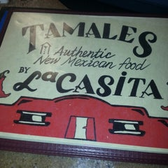 Photo taken at Tamales by La Casita by amy h. on 1/28/2013