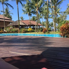 Photo taken at Andamania Beach Resort & Spa by Milla M. on 2/25/2015