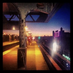 Photo taken at MTA Subway - 111th St/Greenwood Ave (A) by Konstantin S. on 10/12/2012