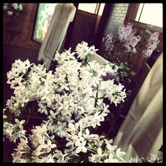 Photo taken at Olmsted Lodge at Highland Park by T.C. P. on 4/9/2013