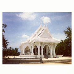 Photo taken at วัดสว่างอารมณ์ by Tepong S. on 8/12/2013