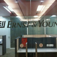 Photo taken at Ernst & Young by Gil W. on 10/4/2012