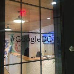 Photo taken at Google Washington by Cassie P. on 2/26/2015