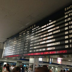 Photo taken at New York Penn Station by Reynaldo M. on 6/1/2013