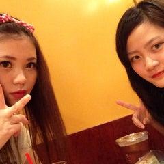 Photo taken at EXCELSIOR CAFFE 心斎橋店 by Rena K. on 7/13/2014