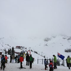 Photo taken at Whistler Village Gondola by Adam L. on 1/26/2013