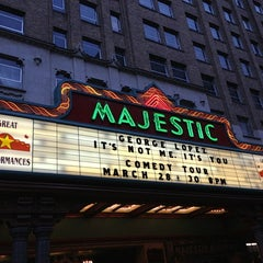 Photo taken at The Majestic Theatre by Alex E. on 3/29/2013