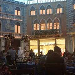 Photo taken at Tintoretto Bakery (Venetian Hotel) by Abdulaziz A. on 12/2/2014