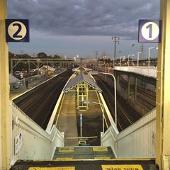 Photo taken at Flemington Station by Darren W. on 4/15/2015