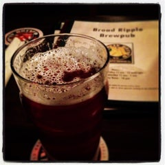 Photo taken at Broad Ripple Brew Pub by Richard D. on 3/5/2013