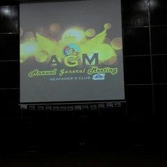 Photo taken at Auditorium Perpustakaan Sultanah Nur Zahirah, UMT by Fara M. on 6/3/2015