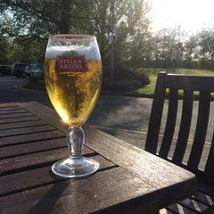 Photo taken at Hilton Warwick/Stratford Upon Avon by Gary H. on 4/16/2014