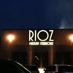 Photo taken at Rioz Brazilian Steakhouse by Sean H. on 3/31/2013