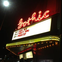Photo taken at The Gothic Theatre by Ana H. on 4/5/2013