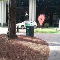 Photo taken at Googleplex - Crave Cafe by Thea R. on 10/16/2014