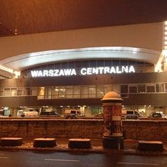 Photo taken at Warszawa Centralna by Pavel Z. on 12/15/2012