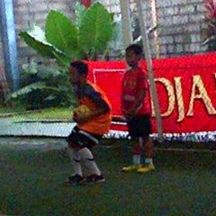 Photo taken at Galaxy Futsal Center by Bunda S. on 4/3/2013