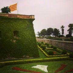 Photo taken at Parc de Bombers de Montjuïc by Attila A. on 6/18/2013