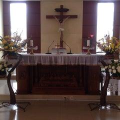 Photo taken at Gereja Maria Immaculata Slawi by George L. on 10/12/2014