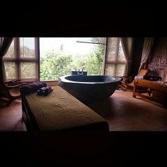 Photo taken at Plataran Borobudur Resort & Spa by Ryan M. on 9/8/2014