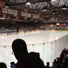 Photo taken at Lynah Rink by Mark G. on 11/18/2012