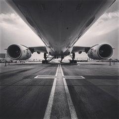 Photo taken at Aeroporto Internacional de São Paulo / Guarulhos (GRU) by Eduardo U. on 5/16/2014